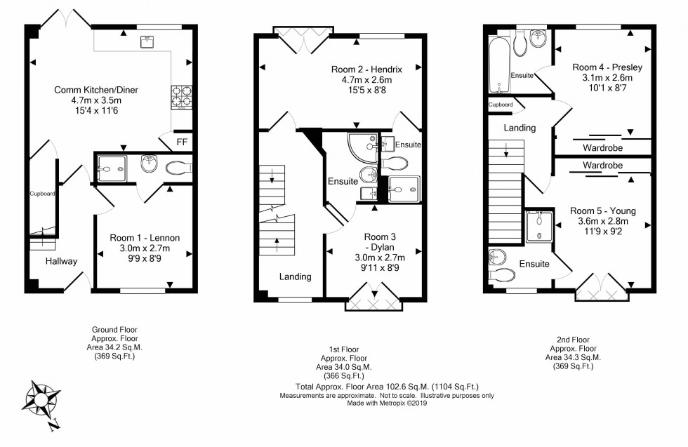 Floorplan for Perigee, Shinfield