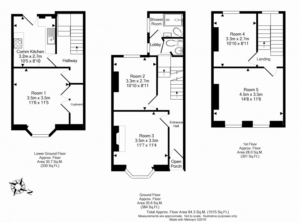 Floorplan for Anstey Road, Reading