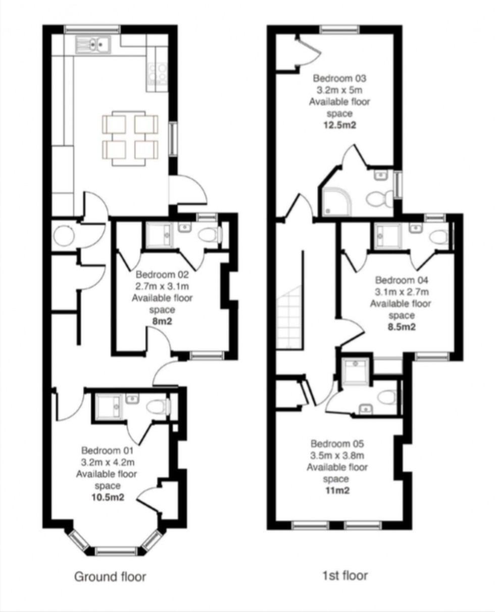 Floorplan for Wantage Road, Reading