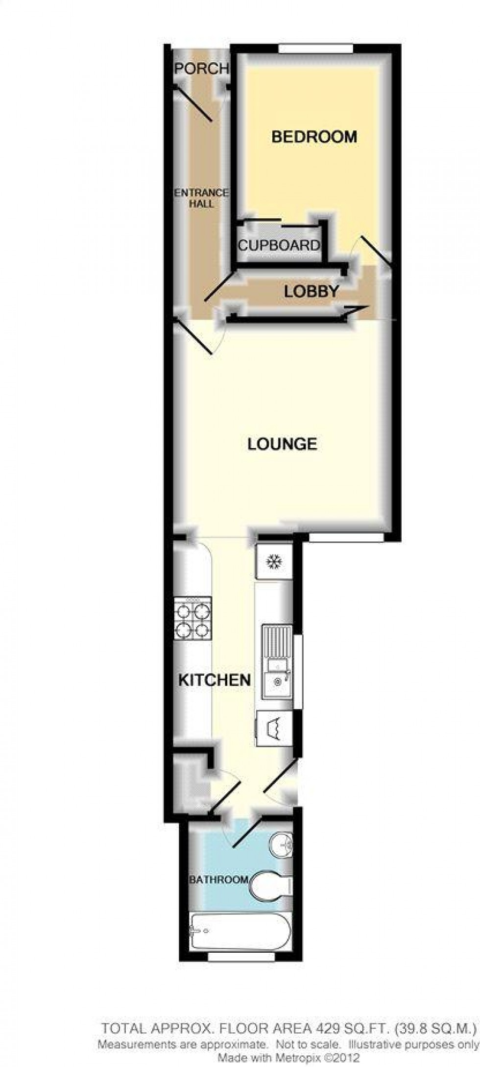 Floorplan for Freshwater Road, Reading